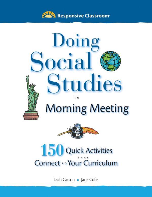Doing Social Studies in Morning Meeting