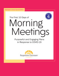 First 10 Days of Morning Meetings Grade 6